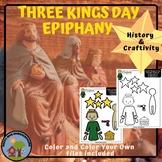 3 Kings Day  Epiphany History & Craft