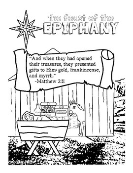 free epiphany coloring pages-#31