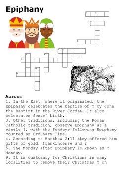 Epiphany Crossword
