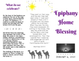Epiphany Home Blessing 2021