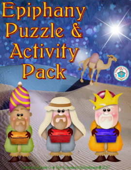 Epiphany Puzzle and Activity Pack