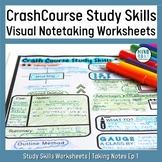 Crash Course Study Skills Visual Note-taking Worksheet: Ep