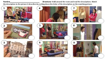 Episode 1 Part 2 Gallery Walk, Listening, reading, writing quizzes and more