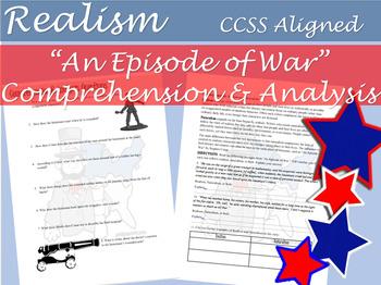 Episode of War Realism Worksheets