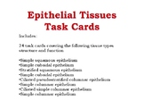 Epithelial Tissue Task Cards