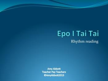 Epo i Tai Tai: Three PDFs for the Rhythmic Reading of Syncopa
