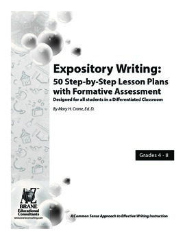 Epository Writing: 50 Step-by-Step Lesson Plans with Formative Assessment