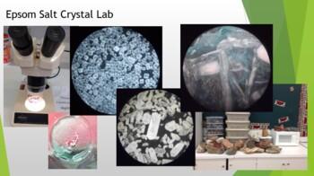 Epsom Salt Crystal lab