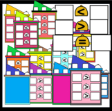 Equality / Inequality Apartments (Sunnah Learners Clipart)
