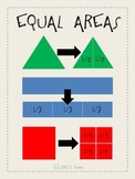 Equal Areas--Math Grade 3 Poster