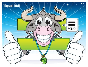 Equal Bull Number Buddy Poster
