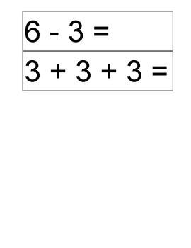 Equal Equation Match Up