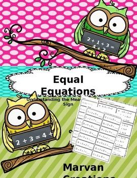 Equal Equations