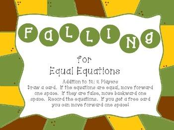 Equal Equations FREE