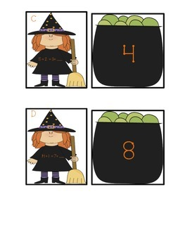 Equal Equations: Help the Witch Find Her Caldron