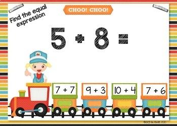 Equal Expressions BOOM CARDS FREEBIE