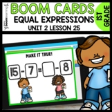 Equal Expressions BOOM CARDS [Module 2 Lesson 25]