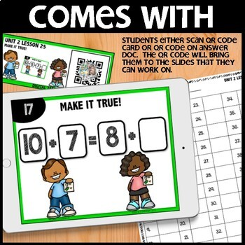 Equal Expressions DIGITAL/PRINTABLE TASK CARDS