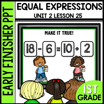 Early Finishers Activities | Equal Expressions