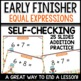Equal Expressions Early Finisher PPT Module 2