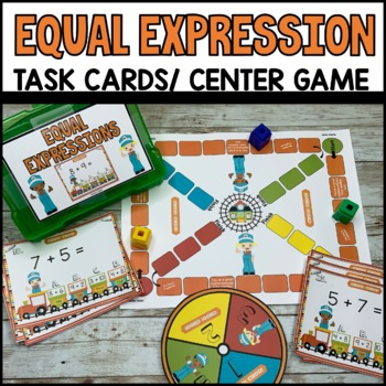 Equal Expressions Task Cards