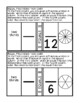 Equal Fractions Coloring Page Activity Math PDF Printable Task Cards