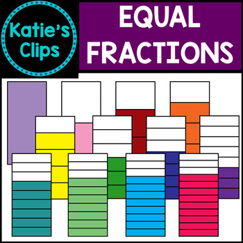 Equal Fractions {Katie's Clips Clipart}