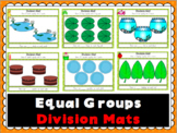 Equal Groups Division Mats