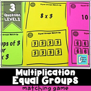 Equal Groups Matching Game