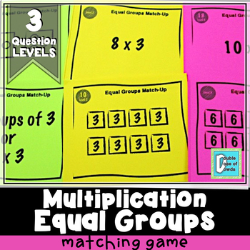 Equal Groups Match-Up Cards