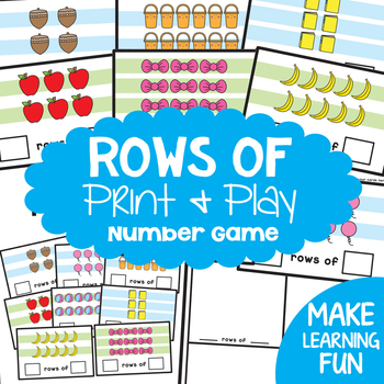 Equal Groups {Math Activities Pack #20}