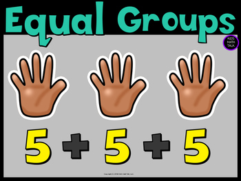 Equal Groups Poster - Friday Freebie!