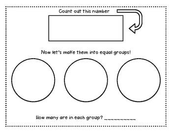 Equal Groups Sorting Mats