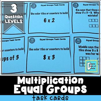 Equal Groups Task Cards