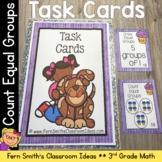 3rd Grade Go Math 3.1 Equal Groups Task Cards