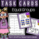 3rd Grade Go Math Chapter Three 3.1 Equal Groups Task Cards