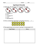 Equal Groups and Arrays Quiz Version 1