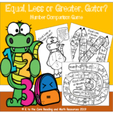 Equal Less or Greater, Gator? Game