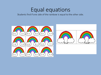 Equal Math Equations