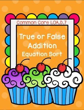 Equal Not Equal Addition Sort