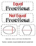 Equal, Not Equal Fractions/Sort
