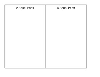 Equal Parts Activity