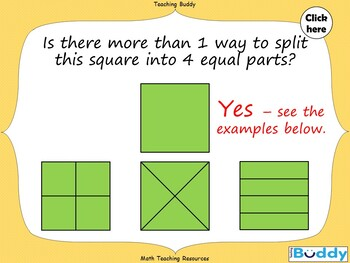Equal Parts - An Introduction to Fractions