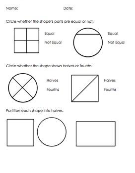 Equal Parts Assessment