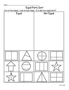 equal parts sort by jeanette burge teachers pay teachers. Black Bedroom Furniture Sets. Home Design Ideas