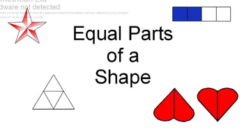 Equal Parts of a Shape
