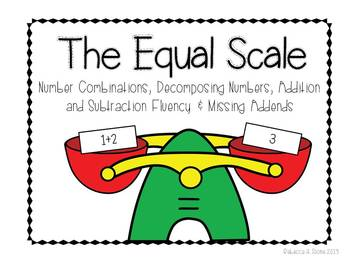 Equal Scale: Number Combinations, Decomposing Numbers, Addition and Subtraction