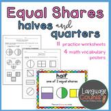 Equal Shares & Fractions- 1st Grade