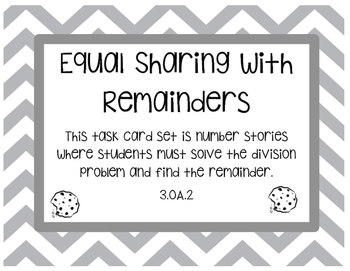 Equal Sharing with Remainders