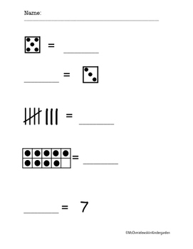 Equal Sign Activity